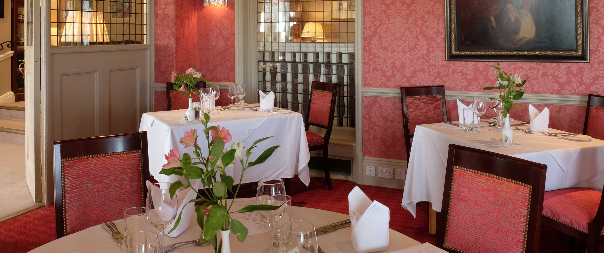 Dining at The Wentworth Restaurant in Aldeburgh