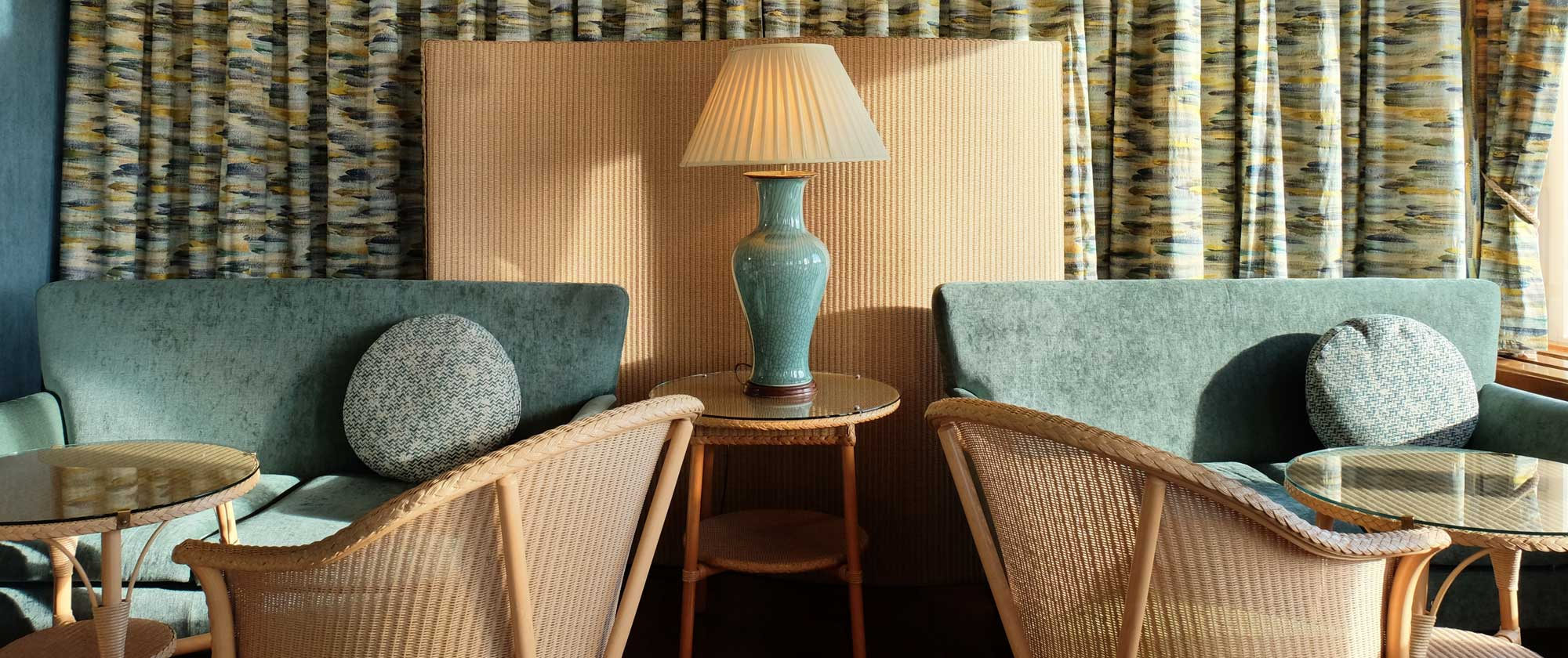 Comfortable Lounges at The Wentworth Hotel in Aldeburgh
