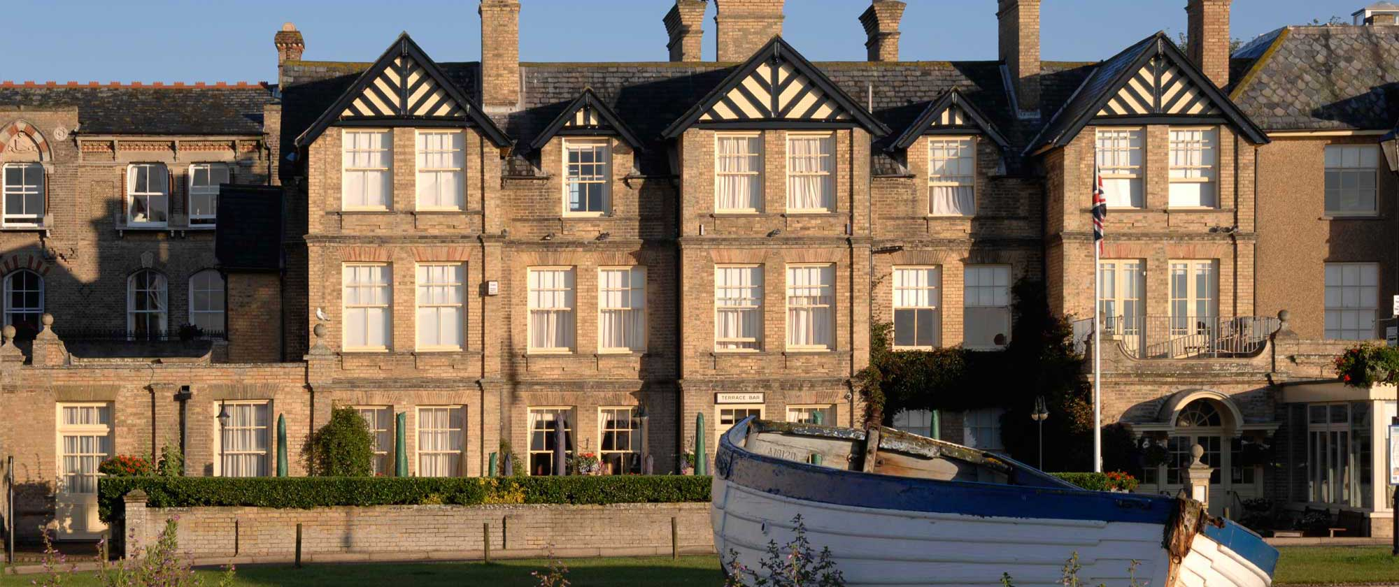 The Wentworth Hotel on the Suffolk coast